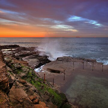 Bogey Hole at Dusk 13 by Snelvis