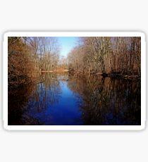 Tranquil Pond Sticker