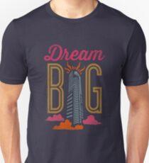 Dream Big Inspirational Design T-Shirt