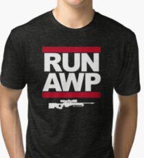 RUN AWP Tri-blend T-Shirt