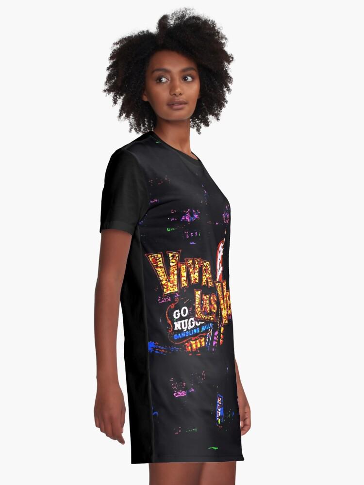 Alternate view of Viva Las Vegas Graphic T-Shirt Dress