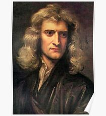 NEWTON, Gravity, Isaac Newton, Sir Isaac Newton, Science, Scientific Poster