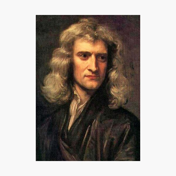 NEWTON. Gravity. Isaac Newton, Sir Isaac Newton, Science, Scientific. Photographic Print
