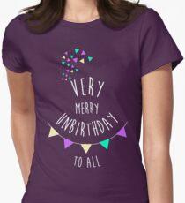 Very Merry Unbirthday Women's Fitted T-Shirt