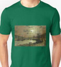 John Atkinson Grimshaw - Whitby Unisex T-Shirt