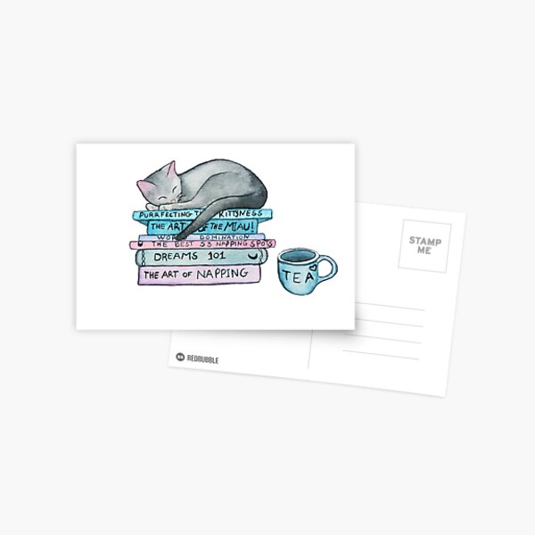 The Art of the Miau Postcard