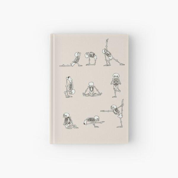 Skeleton Yoga Hardcover Journal