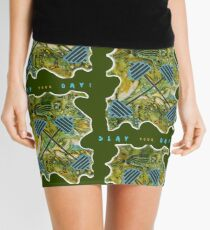 SLAY YOUR DAY BODYBUILDING FITNESS Mini Skirt