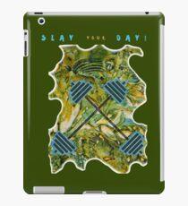 SLAY YOUR DAY BODYBUILDING FITNESS iPad Case/Skin