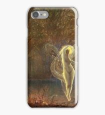 John Atkinson Grimshaw - Dame Autumn Hath A Mournful Face iPhone Case/Skin