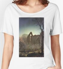 John Atkinson Grimshaw - Bolton Abbey Women's Relaxed Fit T-Shirt