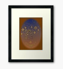 starbound.traveller Framed Print