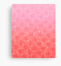 Ombre Pink Canvas Print