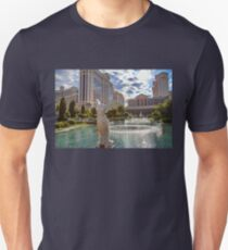 USA. Nevada. Las Vegas. Caesars Palace. Sculpture & Fountain. Unisex T-Shirt