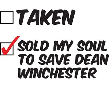 SUPERNATURAL Sold My Soul To Save DEAN WINCHESTER Castiel Bobby Singer Sam WInchester The Road So Far  by yellowdogtees
