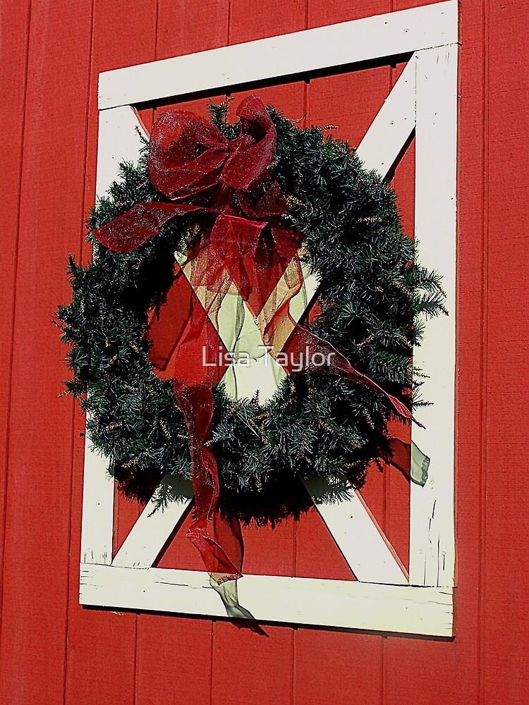 Barn Door Wreath by Lisa Taylor