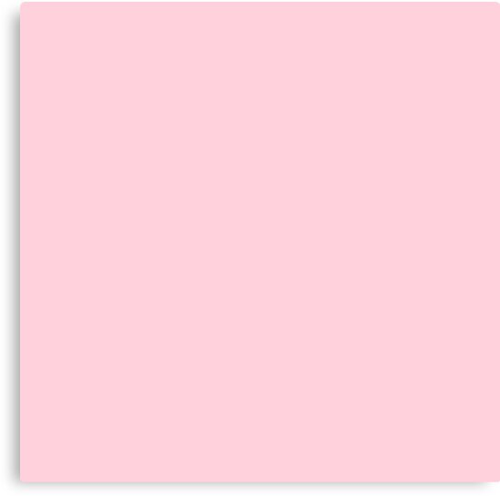 Quot Light Soft Pastel Pink Solid Color Quot Canvas Prints By