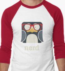Nerd - Penguin with Geek Glasses - Funny Humor  T-Shirt
