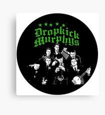 Dropkick Murphys Band Canvas Print
