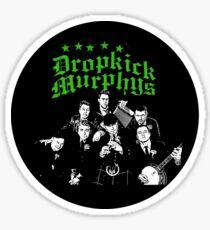 Dropkick Murphys Band Sticker