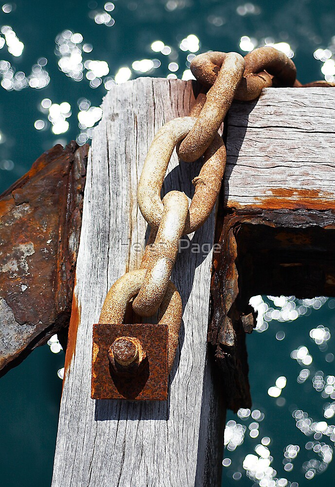 Rusted Chain by Helen  Page