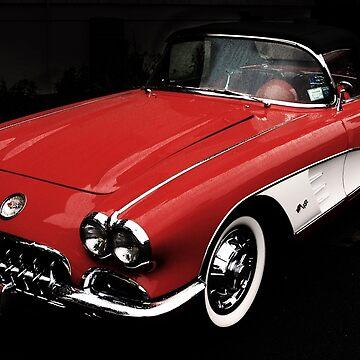 C1 Corvette 1958 by woodeye518