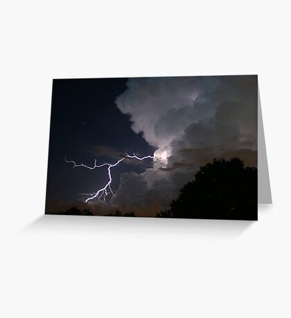 Thunderbolt Greeting Card