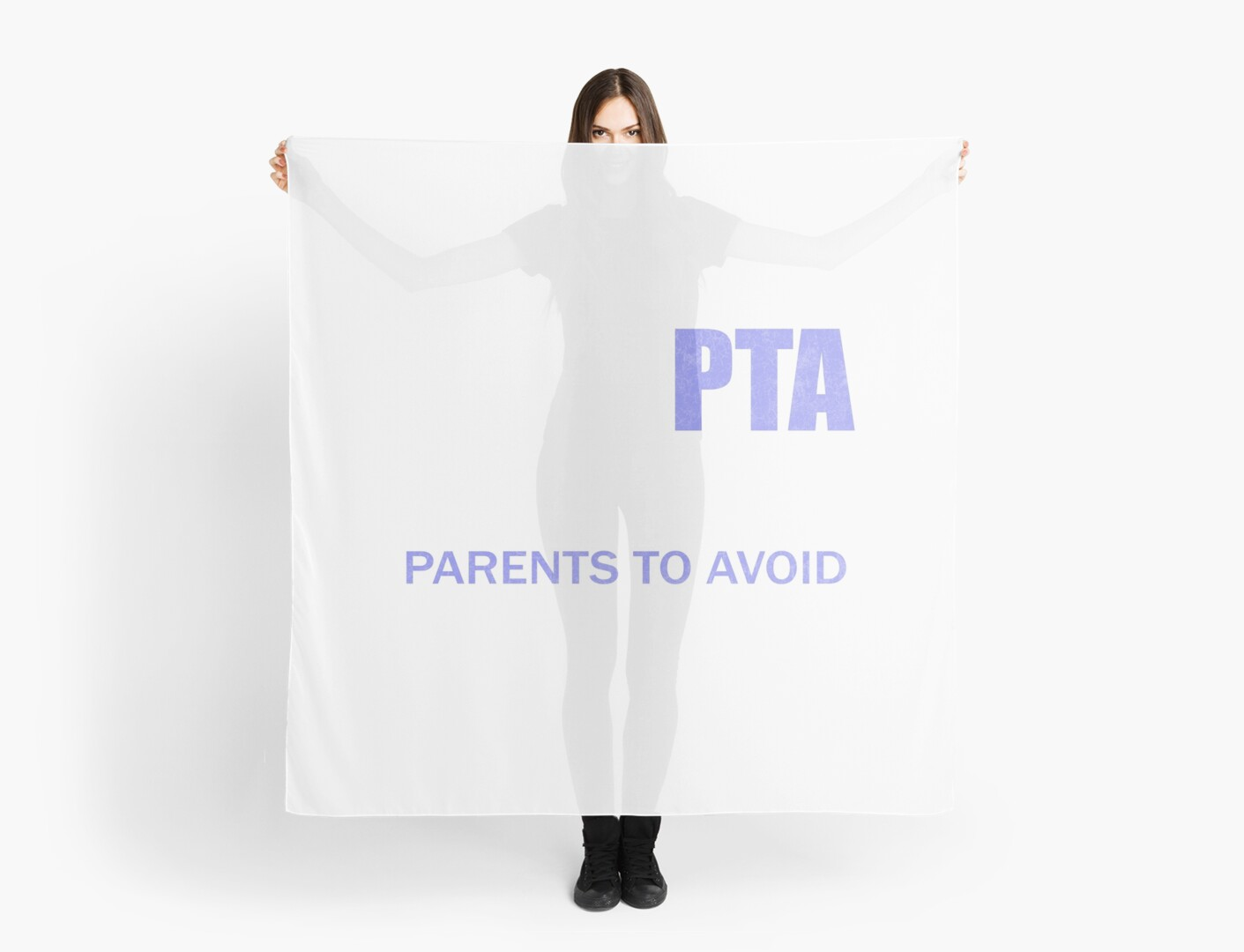 Funny Pta Parent Meeting Teacher Day Gift Idea Scarves By