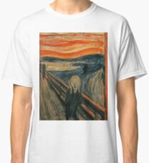 Classic Art - The Scream  - Edvard Munch Classic T-Shirt
