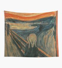 Classic Art - The Scream  - Edvard Munch Wall Tapestry