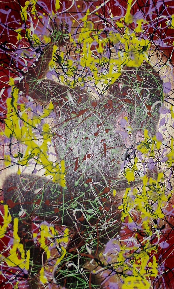 Oder in Chaos #1 (Mixed Media)- by Robert Dye