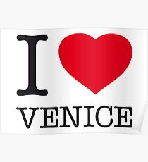 I ♥ VENICE Poster