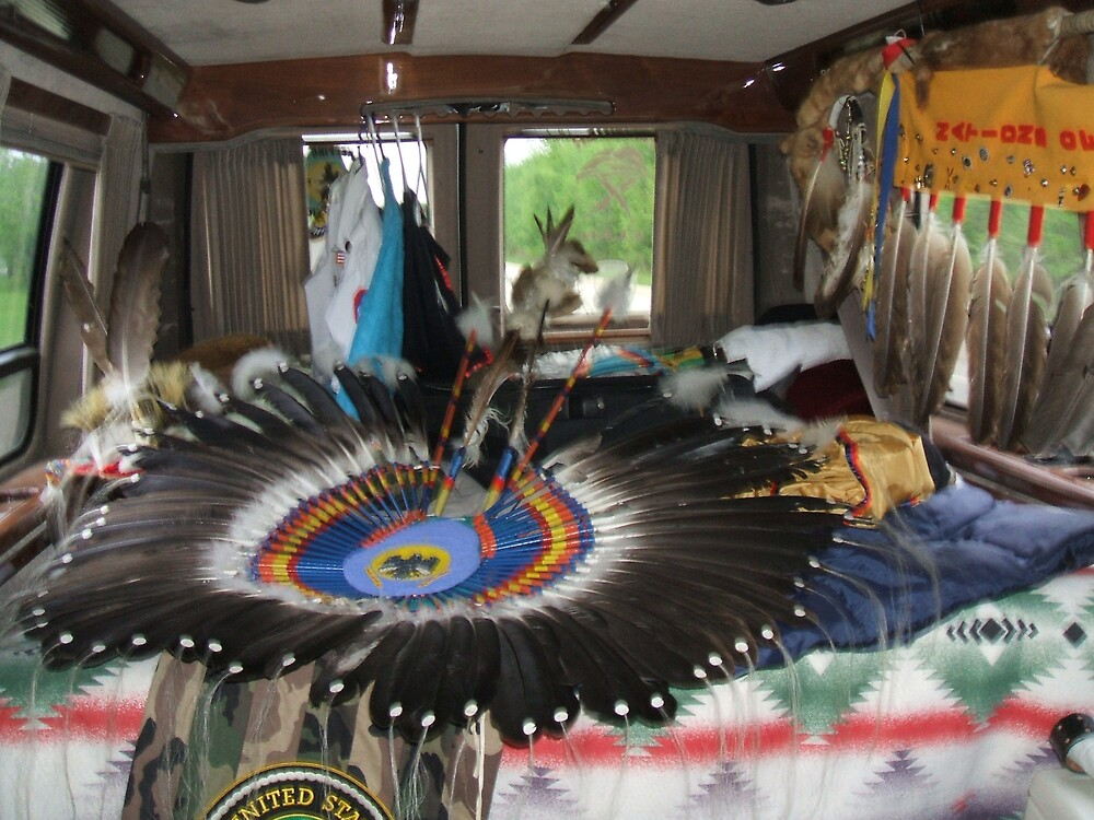 Powwow Van by PhilWinter