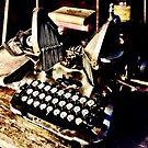 Antique Typewriter Oliver #9 by Susan Savad