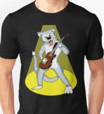 heavy metal cool cat t-shirt Unisex T-Shirt