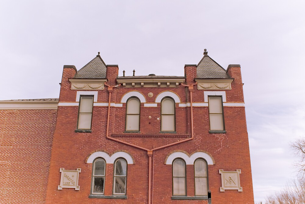 Bedford County Museum-West Side by Rod  Adams