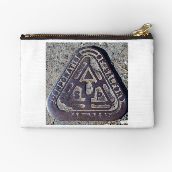 Corporation of Salford Zipper Pouch