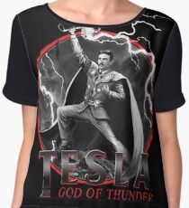 Tesla God Of Thunder Chiffon Top