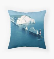Landscapes - The Needles Throw Pillow