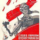 USSR CCCP Cold War Soviet Union Propaganda Posters by jnniepce