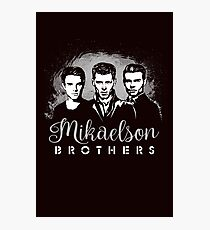 Mikaelson Brothers. The Originals. Photographic Print