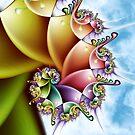 Rainbow Spiral by Kelly Dietrich