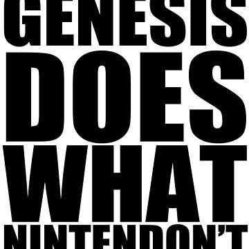 GENESIS DOES! by Schematics