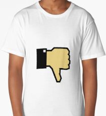I don't like this! (Thumb Down) Long T-Shirt