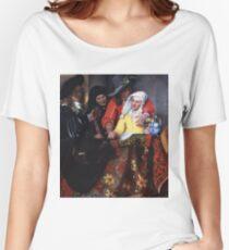 Johannes Vermeer - The Procuress 1656 Women's Relaxed Fit T-Shirt