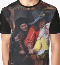 Johannes Vermeer - The Procuress 1656 Graphic T-Shirt