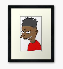 21 Savage X Mr Burns Framed Print