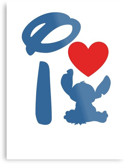I Heart Stitch (Inverted) by ShopGirl91706