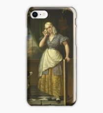 Johannes Hendrik Van West - Love Note, 1838 iPhone Case/Skin