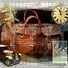Bon Voyage Collage by Sarah Vernon